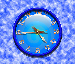 Classic Office Clock Royalty Free Stock Image - Image: 18241386