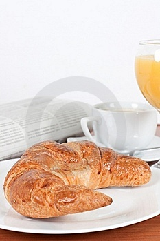 Continental Breakfast Royalty Free Stock Images - Image: 18242209