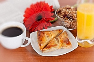 Continental Breakfast Royalty Free Stock Photography - Image: 18242277