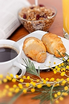 Continental Breakfast Stock Photos - Image: 18242313