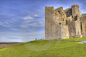 The Rock Of Cashel  Castle In Ireland. Stock Images - Image: 18243214