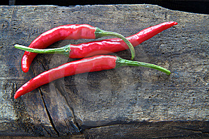 Chilli Peppers Royalty Free Stock Images - Image: 18244219