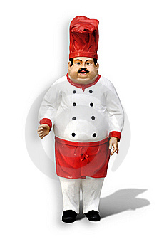 Chef Statue Stock Image - Image: 18244821