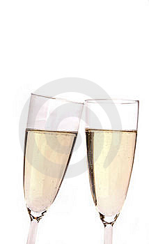 Champagne Glasses Stock Photography - Image: 18245422