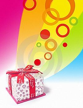 Liebes-Geschenkkasten Lizenzfreie Stockbilder - Bild: 18245769