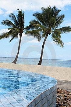 Pool At The Sea Royalty Free Stock Image - Image: 18246126