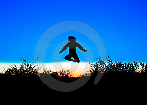 Jump Royalty Free Stock Photography - Image: 18247987