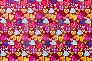 Paper Heart Royalty Free Stock Images - Image: 18248459