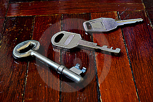 Door Key Royalty Free Stock Images - Image: 18250079