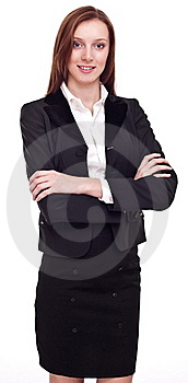 Portrait Of Confident Young Woman. Royalty Free Stock Image - Image: 18250306