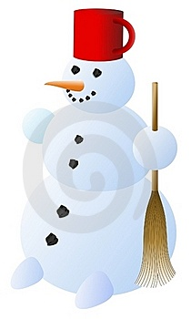 Snowman Royalty Free Stock Photography - Image: 18259277