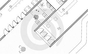 Architectural Plan Royalty Free Stock Photo - Image: 18259495