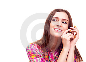 Thoughtful Woman Stock Images - Image: 18259744