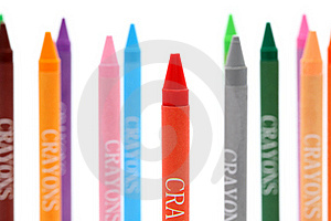Colorful Crayons Royalty Free Stock Image - Image: 18264006