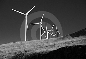 Green Wind Power Royalty Free Stock Photography - Image: 18264697