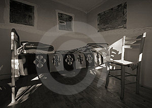 Old Wooden House Interior Royalty Free Stock Photos - Image: 18273428