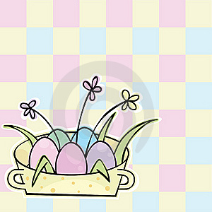 Easter Background Royalty Free Stock Image - Image: 18281676