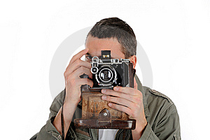 Young Professional Photographer Stock Image - Image: 18284051
