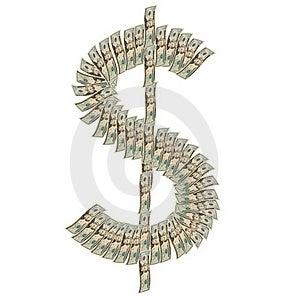 Dollar Symbol Royalty Free Stock Photo - Image: 18285095
