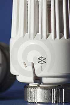 Thermostatic Valve To Control Heat Stock Photo - Image: 18288270