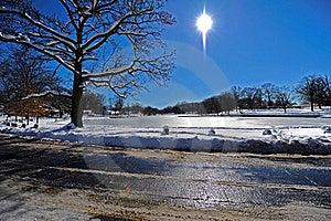 Frozen Lake Stock Photos - Image: 18289603