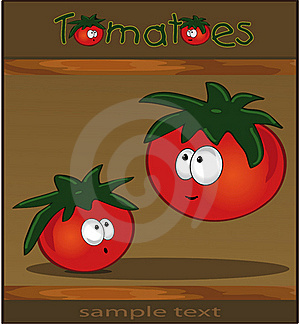 Tomatoes Wood Brown Royalty Free Stock Image - Image: 18291196
