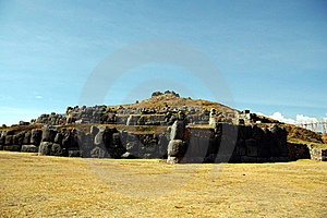 Sacsayhuaman Ruins Stock Image - Image: 18292511