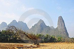 On The Li River Stock Image - Image: 18294291