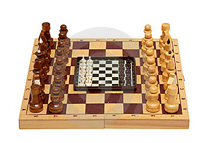 The Chess Royalty Free Stock Photo - Image: 18297045