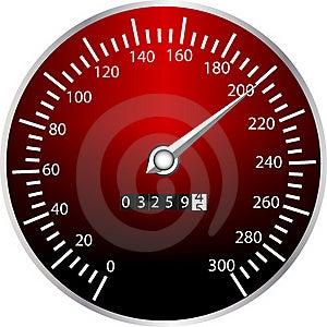 Tachometer Stock Photo - Image: 18297810