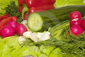 Stock Photography: Spring Vegetables Picture. Image: 1835362