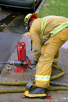Firefighter Royalty Free Stock Photography - Image: 1839437