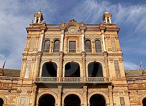 Famous Plaza De Espana Stock Image - Image: 18301311