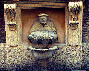 The Little Porter Fountain Royalty Free Stock Images - Image: 18302929