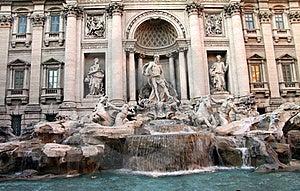 Trevi Fountain Rome Stock Photography - Image: 18303222