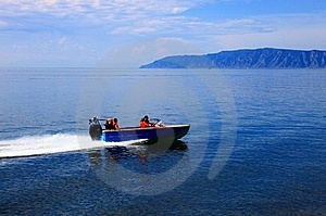Motor Boat Royalty Free Stock Photos - Image: 18306338