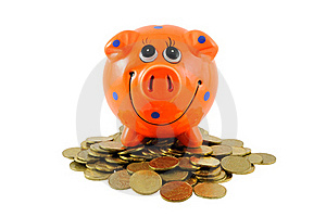 Piggy Bank Stock Images - Image: 18315144