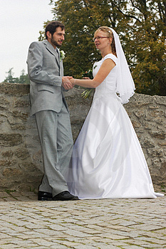 Groom And Bride Stock Images - Image: 18315564