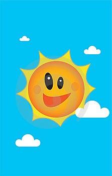 A Sunny Illustration Stock Photo - Image: 18321960