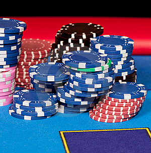 Gambling Chips Stock Images - Image: 18323464