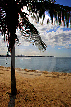 Peaceful Beach Stock Image - Image: 18323981