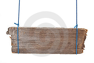Wooden Signboard Royalty Free Stock Photos - Image: 18325258