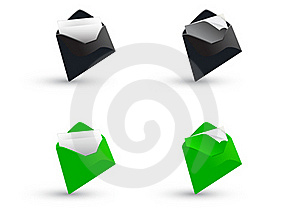 3d Mailbox Royalty Free Stock Image - Image: 18325446