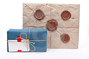 Post Packages Stock Photos - Image: 18325523