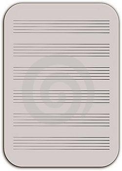 Notepad Manuscript Royalty Free Stock Images - Image: 18326459