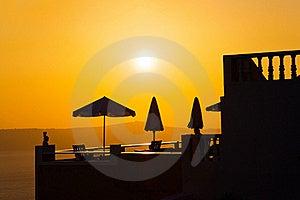 Santorini Sunset - Greece Royalty Free Stock Photo - Image: 18327955