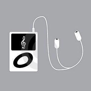Portable Mp3 Player Royalty Free Stock Photos - Image: 18329788