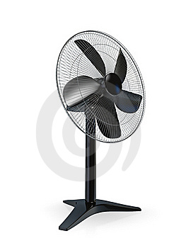 Table Fan Royalty Free Stock Image - Image: 18331726