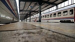 Transportation Railway Train Station Royalty Free Stock Image - Image: 18331756