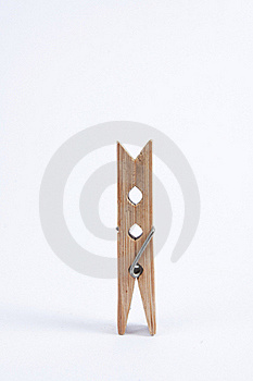 The Cloth Clip Stock Image - Image: 18333561